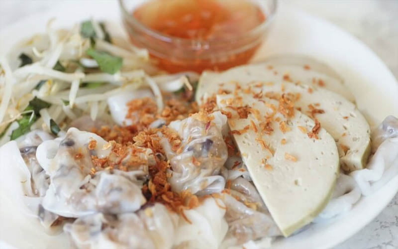 Bánh ướt – một trong các món ăn sáng ngon Sài Gòn