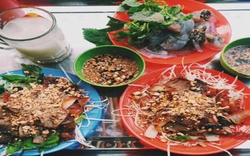 Nộm khô bò quán Long Vi Dung