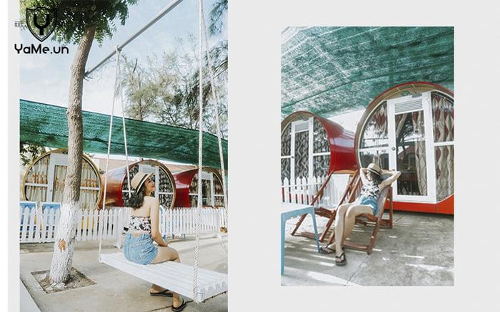 Khách sạn ống cống gió biển