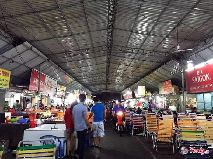 chợ hải sản đêm vũng tàu